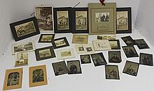 A LARGE COLLECTION OF LATE 19TH AND EARLY 20TH C