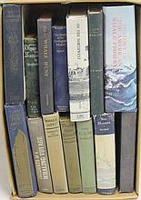 LOT OF 14 BOOKS RELATED TO WHALING INCLUDING
