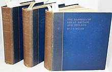 3 VOLUME SET TITLED THE MAMMALS OF GREAT BRITAIN