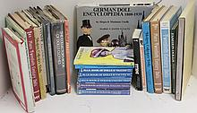 LOT OF TWENTY-THREE BOOKS ON DOLLS TO INCLUDE