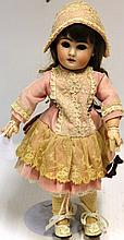 19TH C FRENCH JUMEAU DOLL, MARKED