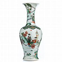 Vase figures in Chinese porcelain