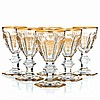 BACCARAT, FRANCE - Six appetizer Cups Empire