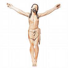 Huge ivory Christ