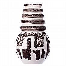 Modernist vase in German ceramics