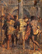 IBERIAN SCHOOL, 18th century - 'Christ scourged'