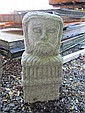 Carved Granite Celtic Head Modern