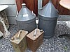 Four Antique Fuel Containers