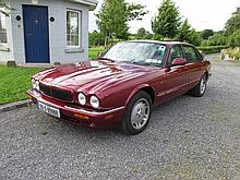 1999 Jaguar Motor Car with Leather Interior