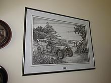 Kathleen Thompson Dated 1991 Framed Lithograph of