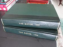 Two Bound Volumes of The Motor Magazines Dated