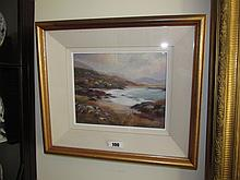 Deirdre O Driscoll Gilt Framed Oil on Board