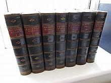 Victorian Publication Leather Bound Seven Volumes