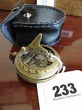 Cased Masonic Compass