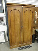 Antique Two Door Linen Press 78 Inches High x 49