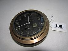 Rolls Royce Car Clock Antique Circa 1930