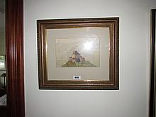 Continental School Gilt Framed Watercolour 6