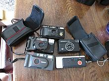 Selection of Five Vintage Cameras