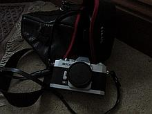 Vintage Cannon Camera with Travelling Case