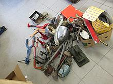 Collection of Various Car Equipment Including