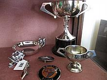 Assorted Car Memorabilia Including Brooklands