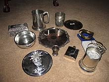 Various Silver Plate As Photographed