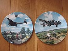 Two Royal Doulton Limited Edition Aircraft
