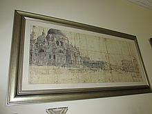 Modern Venice Fine Art Lithograph Contained Within