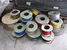 Various Rolls of Electrical Wire As Photographed