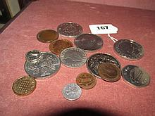 Collection of Various Vintage Collectors Coins