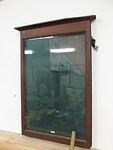 Victorian Glass Front Wall Mounted Display Cabinet