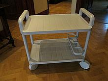 Modern Plastic Serving Trolley