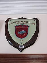 Battery Brae Hill Climb Presentation Plaque 14