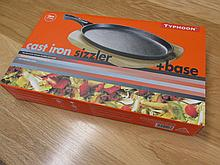 Cast Iron Sizzler in Box As New