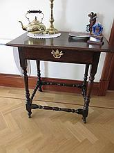 Eighteenth Century Side Table with Brass Plate