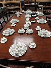 Complete Minton Dinner Service As Photographed