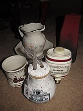 Victorian Saunders Porcelain Inhaler Complete and
