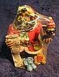 1. African American Santa Figurine with list of good children. 5 1/2
