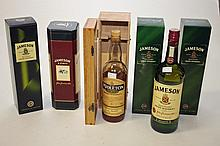 A 70CL BOTTLE OF 12 YEAR OLD JAMESON OLD IRISH