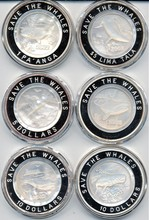 2002 Save the Whales Coin Set