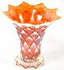 Dugan Lined Lattice Squatty Vase