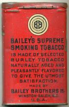 Baileys Supreme Tobacco Pocket Tin