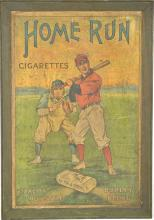 Home Run 1909 Cigarettes Cardboard Poster