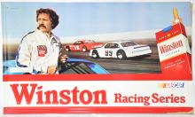 Winston Cigarettes Racing Series sign