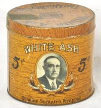 White Ash Cigar Tin