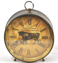 Smoke Blackwells Genuine Durham Tobacco Clock