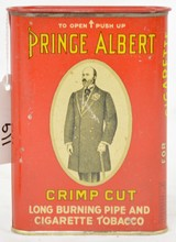 Prince Albert Pocket Tin