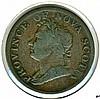 1832, Nova Scotia, Half Penny Token