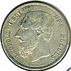 1869, Belgium, 5 Francs