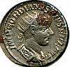 C. 238-234 AD, Gordian III, Roman Empire, AR Antoniniaus